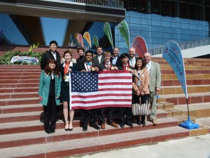 USA Delegation and Chinese Assistant Friends